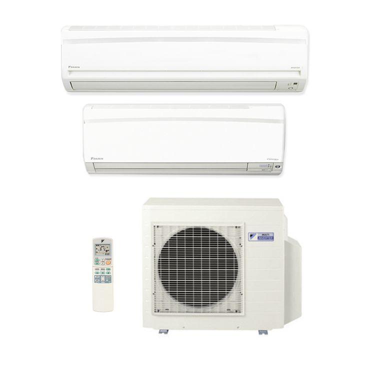 Compre agora o aparelho Ar Condicionado Multi Split Inverter Daikin Advance 1x9000 + 1x18000 HW Btus Quente/Frio 220V 1F e fuja do calor! Ar condicionado é na Central Ar.