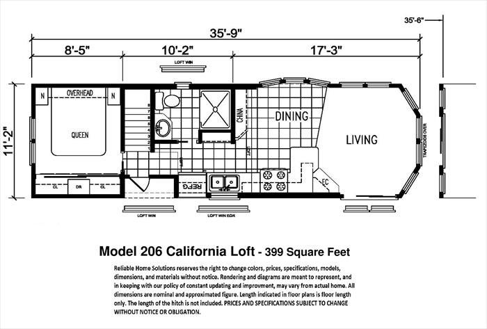 Park Model Home Floor Plan Tiny House Movement