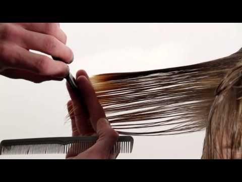 ▶ Basic Introduction to Bob Hair Cut - YouTube