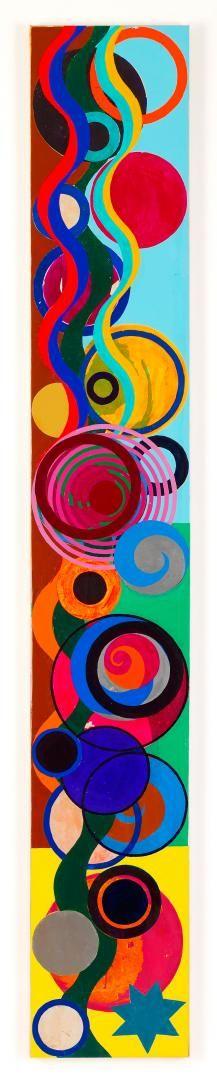Beatriz Milhazes - 'Sarará' - amazing use of bright colors