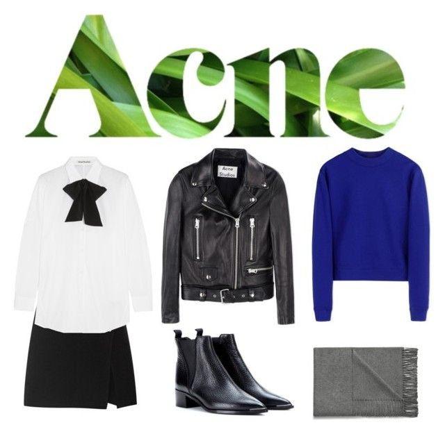 """#Autumn #Acne"" by vonevenseth on Polyvore featuring Acne Studios"