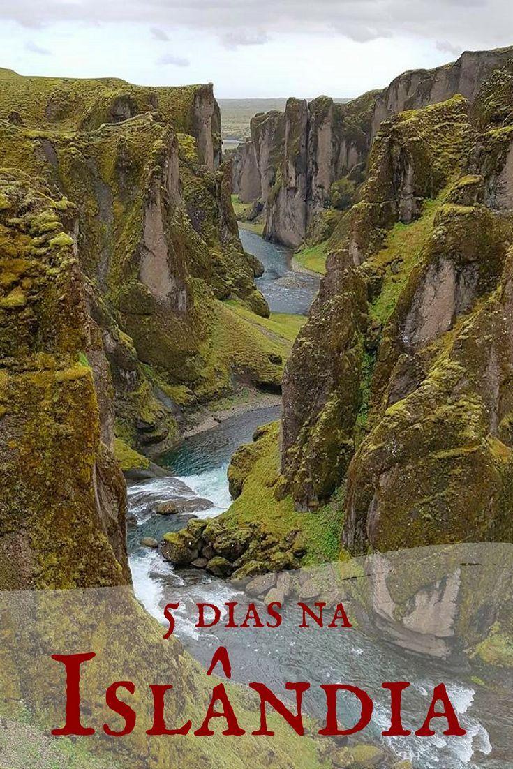 Planejamento de 5 dias de viagem na Islândia, ilha do fogo e gelo, com dicas de roteiro, hospedagem, transporte, atrações e custo. Incluindo um dos mais lindos canyons do mundo, o Fjaðrárgljúfur | Iceland Travel