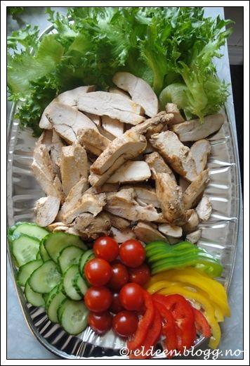 Kyllingfilet til koldtbord
