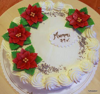 Kattipaakari: Jouluinen syntymäpäiväkakku