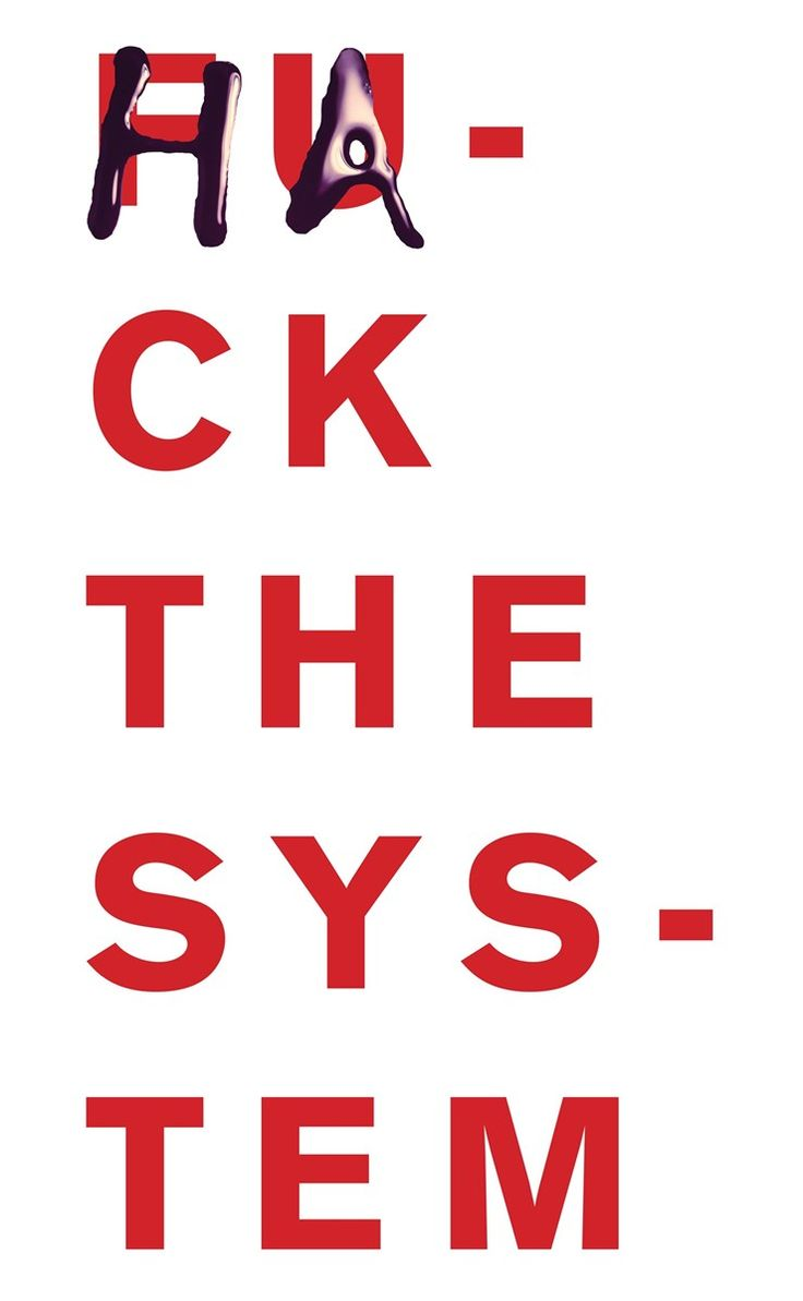 """Jefferson Hack_Poster_Hack The System""""We Can't Do This Alone: Jefferson Hack The System""""BOOK"""