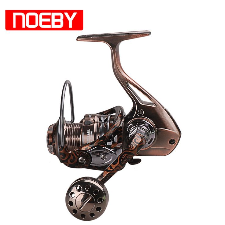 NOEBY Spinning Fishing Reels 12+1BB 5.2:1/4.9:1 Mulinello Peche Carretilhas De Pesca Carp Fish Coil Line Winder 2000-7000Series