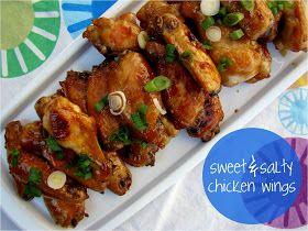 Family Feedbag: Sweet & salty chicken wings