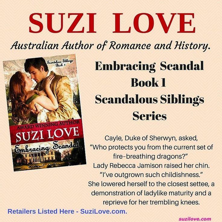 Embracing Scandal Book 1 Scandalous Siblings #HistoricalRomance