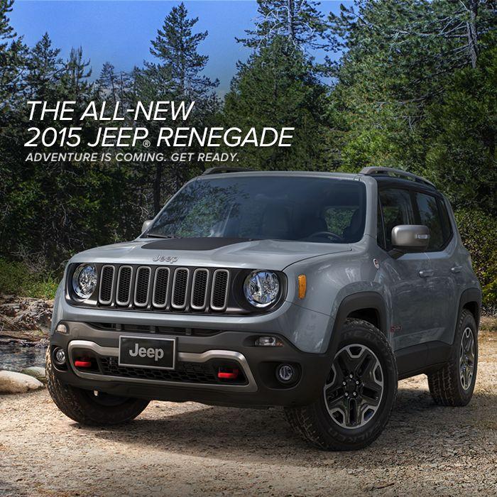 Black 2015 Jeep Renegade: 2015 Jeep Renegade Trailhawk