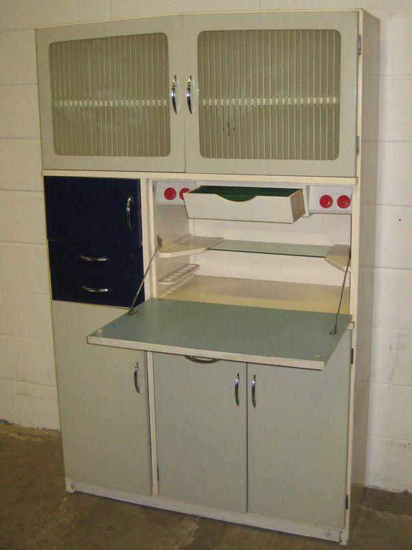 17 best images about retro kitchen larder on pinterest for Hygena vintage kitchen units