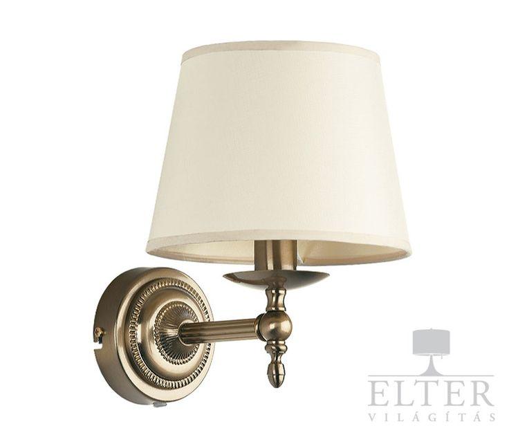 Lámpatípusok - Beltéri világítás - Fali lámpa - Alfa Roksana falikar