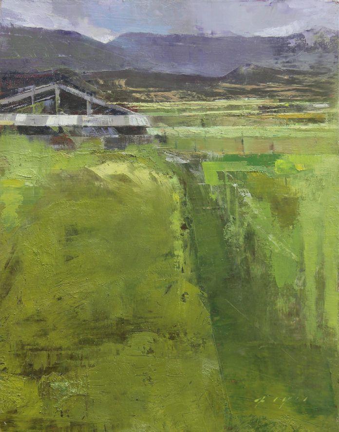 10 Spontaneous Landscape Paintings Oilpainting Fineart Santafeartists Landscape Landscape Paintings Oil Painting Landscape