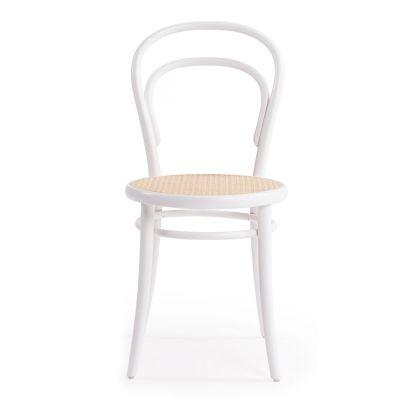 No 14 stol, hvid/rotting – Ton – Køb møbler online på ROOM21.dk
