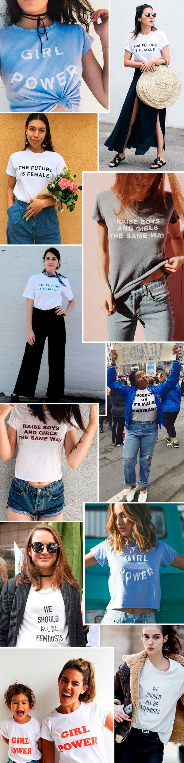 girl power tshirts