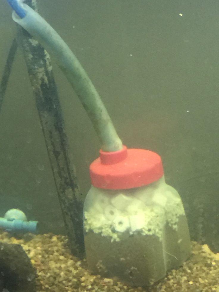 25 best ideas about diy aquarium filter on pinterest for Fish tank filter homemade