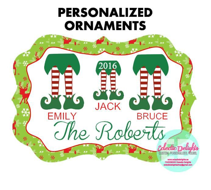 A personal favorite from my Etsy shop https://www.etsy.com/ca/listing/472167279/personalized-ornaments-custom-ornaments
