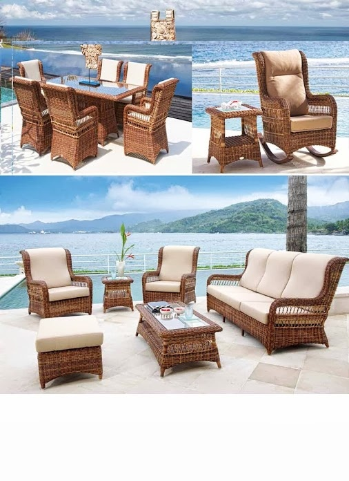12 best Muebles de rattan images on Pinterest | Wicker, Dining room ...