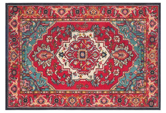 FOR KITCHEN  Noella Runner, Red/Turquoise                                                                                                                                                                                 More