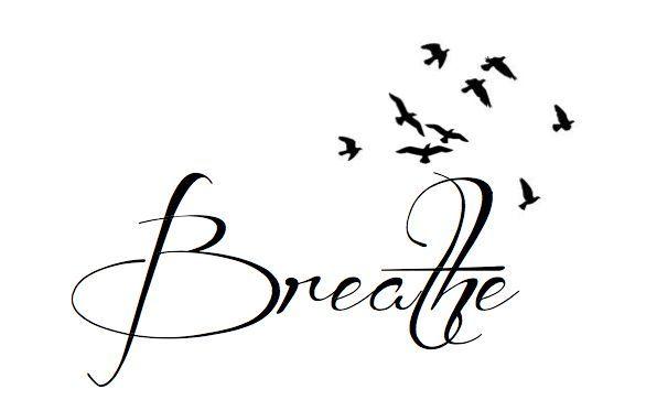 breathe tattoo fonts - Google Search