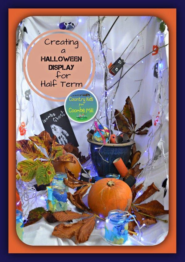 Creating a Halloween Display for Half Term