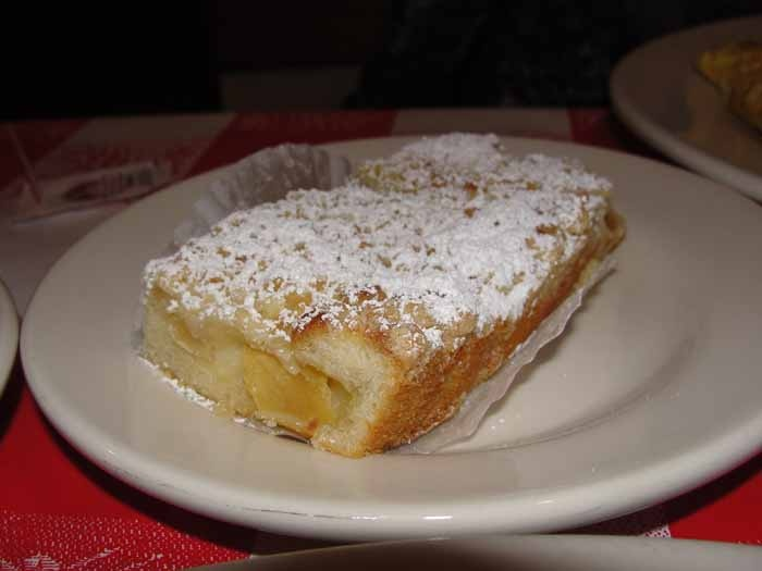 Famous German Apple Streusel from Euro Market Bakery & Deli at Old World in HB.