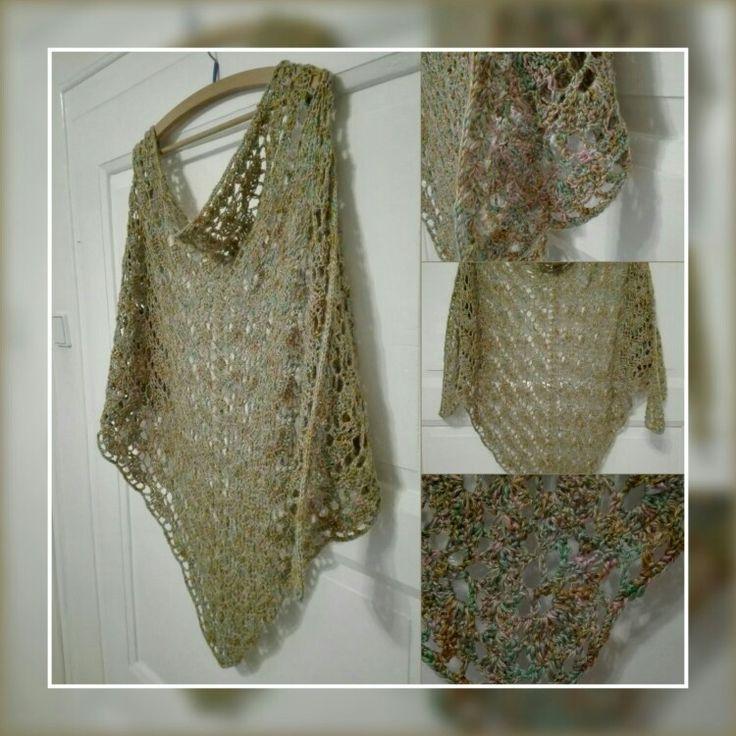 Háčkovany šátek - Crochet Shawl