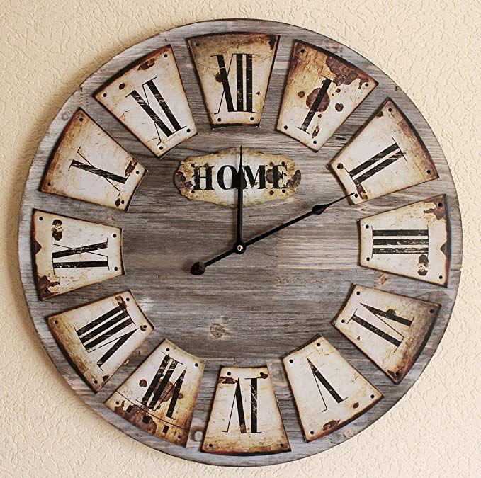 Orologio per Cucina LED Sunrise Tinas Collection Orologio da Parete Orologio Shabby Chic da Parete Orologio Muro
