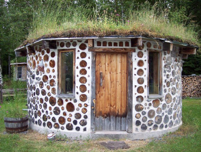 18 best cordwood homes images on pinterest cordwood for Cordwood shed