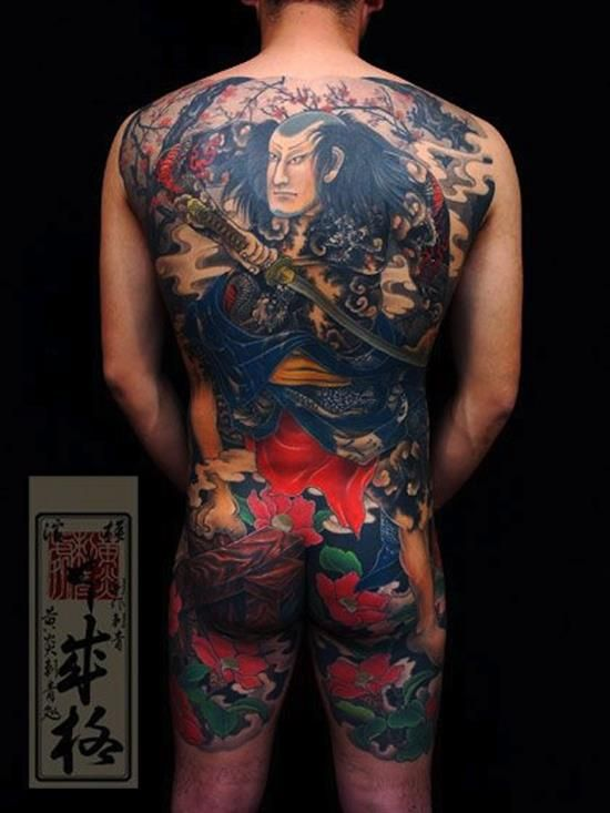 150 Brave Samurai Tattoo Designs And Meanings awesome  Check more at http://fabulousdesign.net/samurai-tattoo-design/