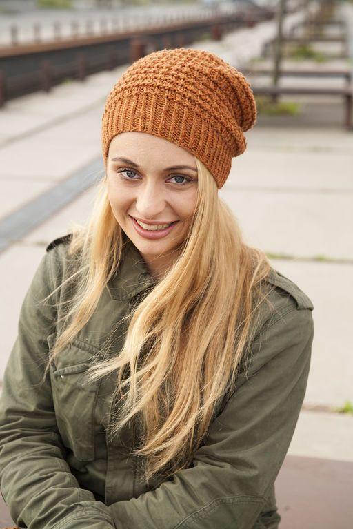 Modèle de tricot - L'échappée Laine Bonnet Hanovre