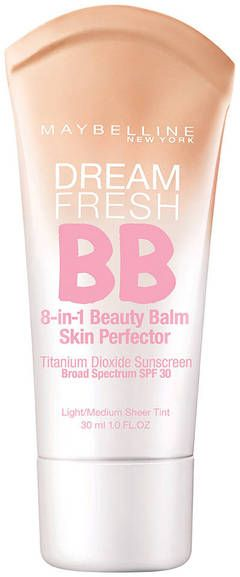 Maybelline Dream Fresh BB Cream 8-in-1 Skin Perfector is the 1-step wonder for a good skin day, everyday.