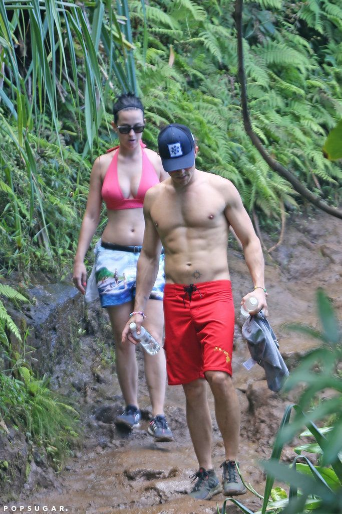 Katy Perry and Orlando Bloom on a romantic getaway to Hawaii
