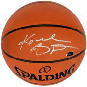 Kobe Bryant Los Angeles Lakers Panini Authentic Autographed Spalding Official Basketball Signed in Silver - Panini