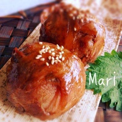スタミナ満点♡肉巻きおにぎり by Mariさん | レシピブログ - 料理 ...