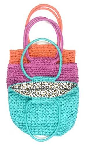 Echo-Straw-Bags #crochet sassy trio