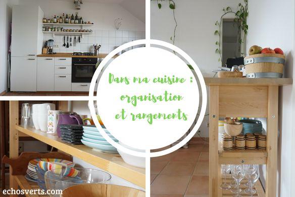 Cuisine - astuces rangements et organisation echosverts.com