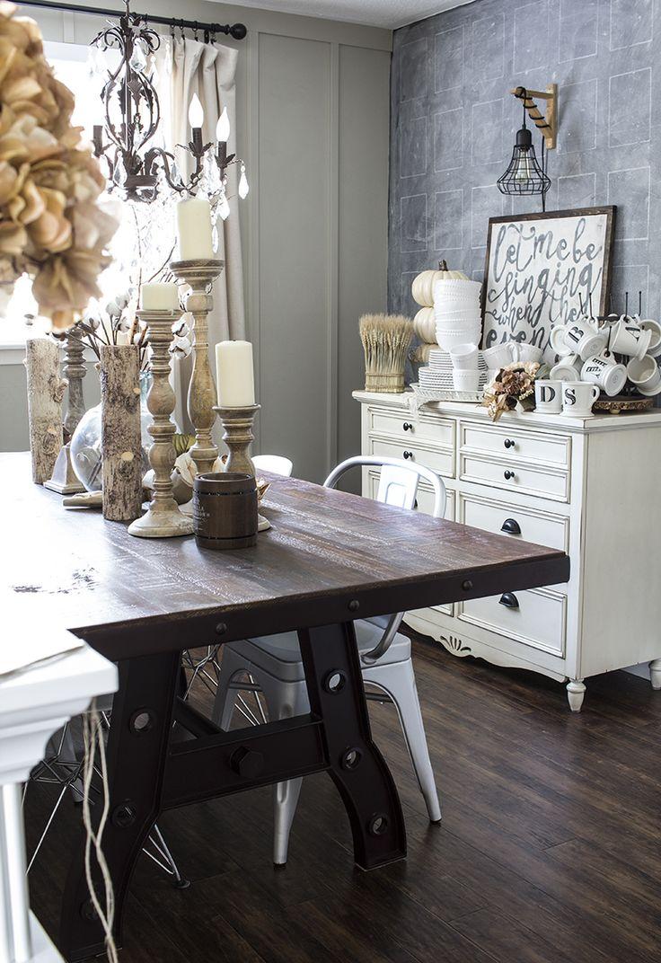 AKA Design Rustic Fall Dining Room 5