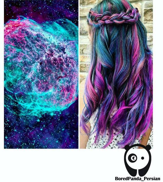 .Galaxy-Hair: Wir färben unsere Haare jetzt in galaktischen Farben