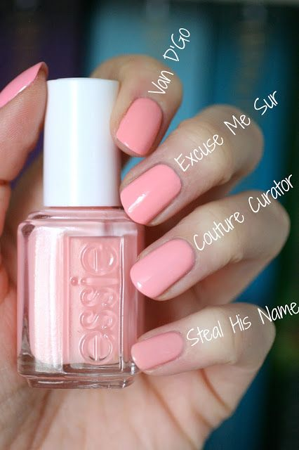 Essie Spring 2017 B'aha Moment Collection : Review, Swatches & Comparisons | Essie Envy