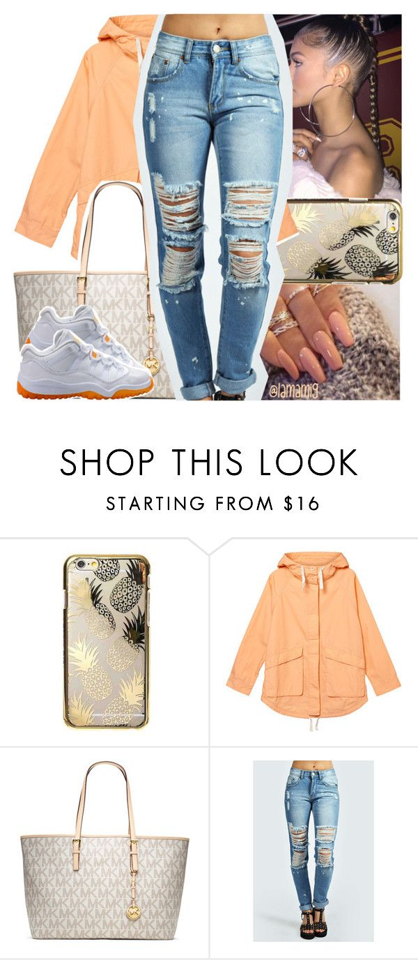ain't no competition, b*tches taking l's after l's b*tch! by lamamig on Polyvore featuring Monki, Boohoo, Skinnydip, NIKE and MICHAEL Michael Kors