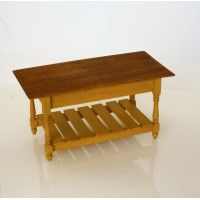 Baker's Table with Slatted Bottom