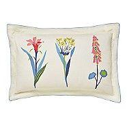 - Multicoloured cotton 'Floral Bazaar' Oxford pillow case