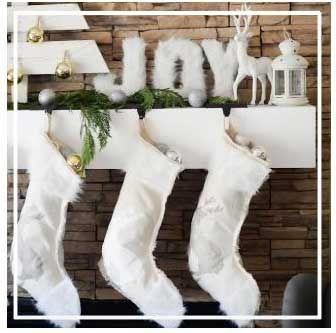 украсить камин к новому году своими руками #рождество #новый_год #украшения #хендмейд #дизайн #камин