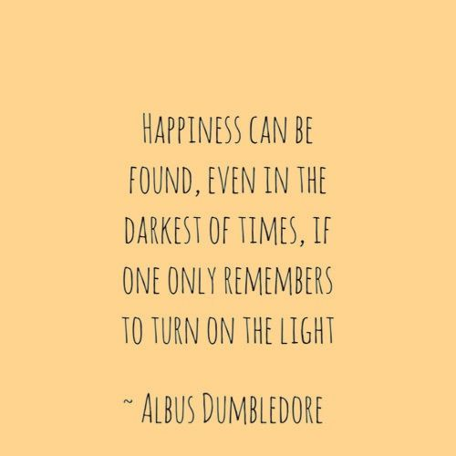 Favourite Harry Potter Quotes: Albus Dumbledore Quotes Happiness. QuotesGram