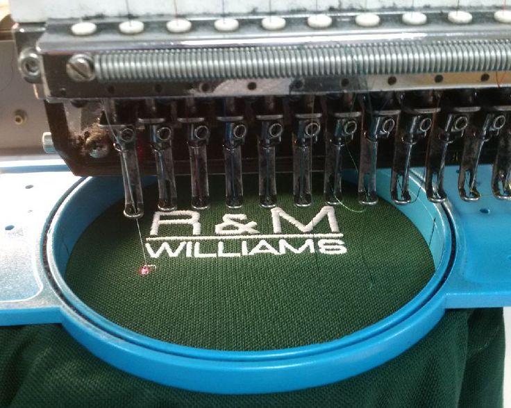 Latest embroidered #workwear for R & M Williams   http://pksafetyuk.com/garment-decoration/