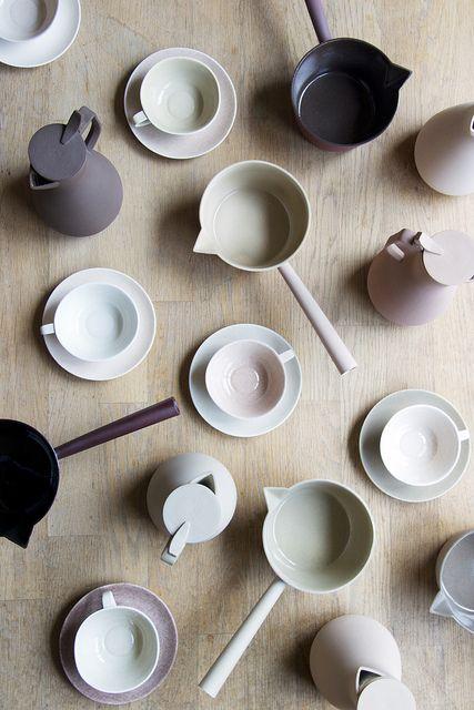ceramics by kirstie van noort / via @satsuki shibuya.