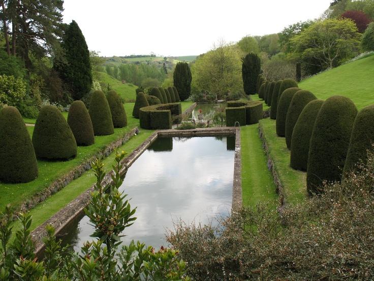 Mapperton Gardens In Dorset