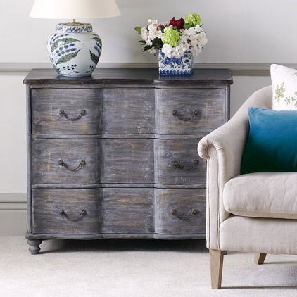 Rosendal Distressed Chest of Drawers, Small