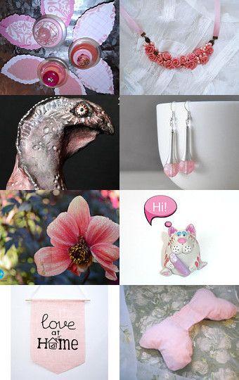 Pink Dreams by Tatyana Stasenkova on Etsy--Pinned with TreasuryPin.com