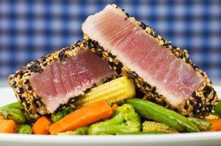 Tataki de thon au sésame grillé à la Plancha - By Recettes du Québec